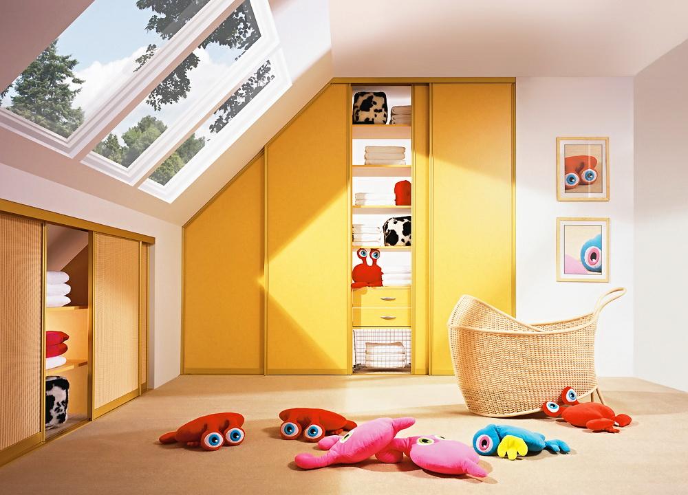 Шкафы купе в детскую фото