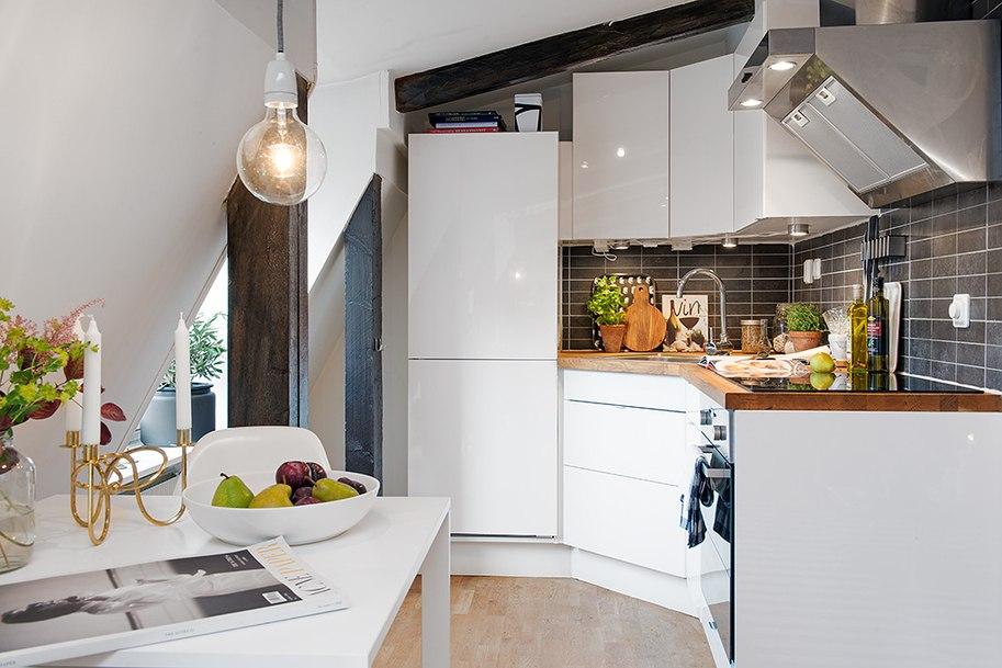 lille moderne køkken