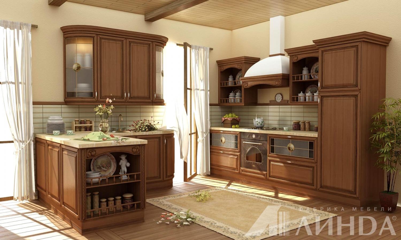 Кухню классика массив