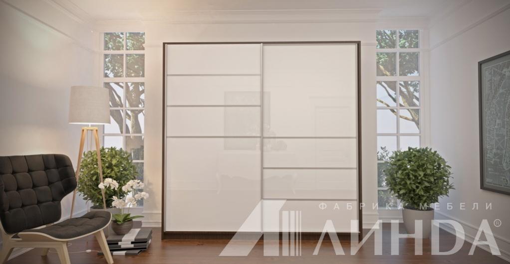 Белые глянцевые шкафы купе на заказ в спб: цены и фото.